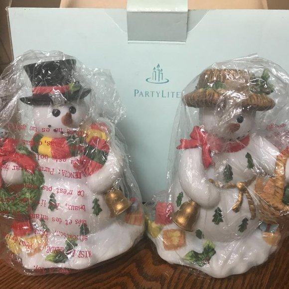 PartyLite Snowbell Taper Candle Holder